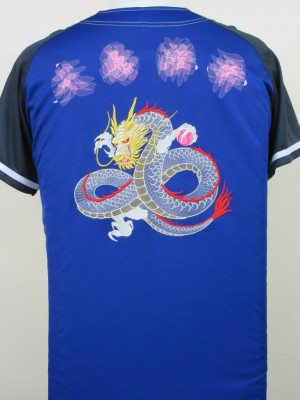 ドラゴン 竜 刺繍 ユニフォーム