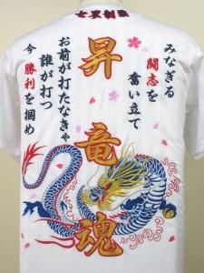 ドラゴン(竜)刺繍
