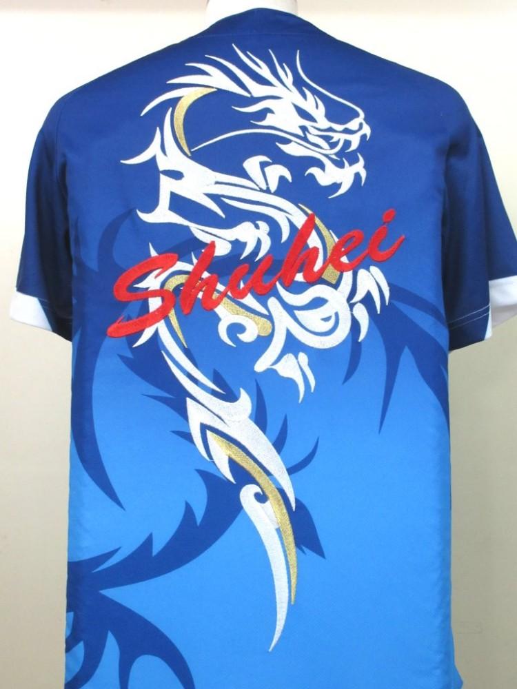 トライバル 竜刺繍