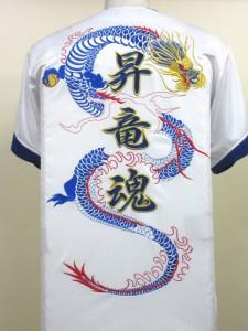 ドラゴン刺繍